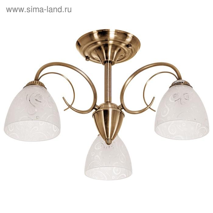 """Люстра классика """"Бомонд"""" 3 лампы (220V 60W E27)"""
