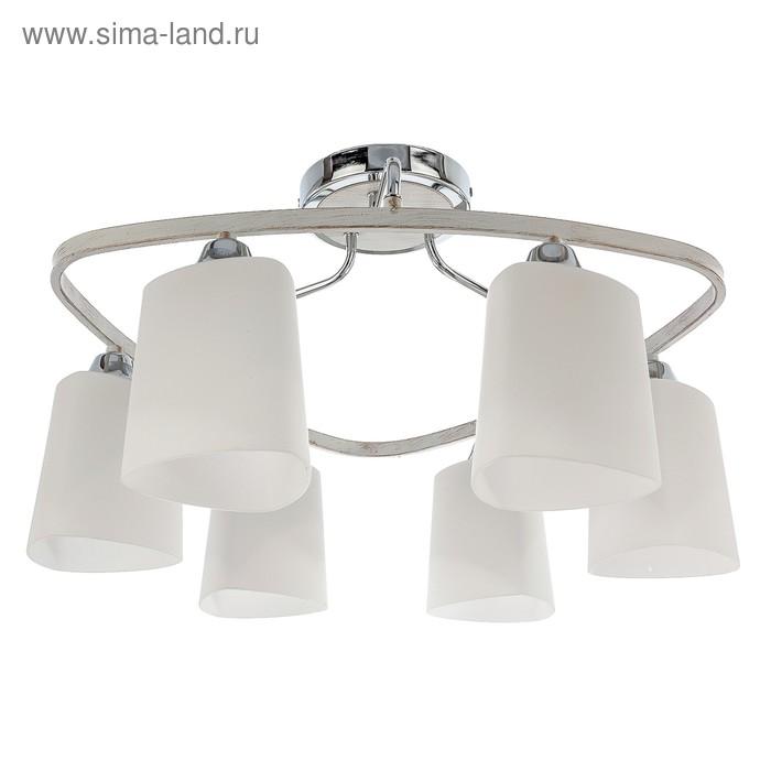 """Люстра классика """"Николь"""" 6 ламп (220V 60W E27)"""