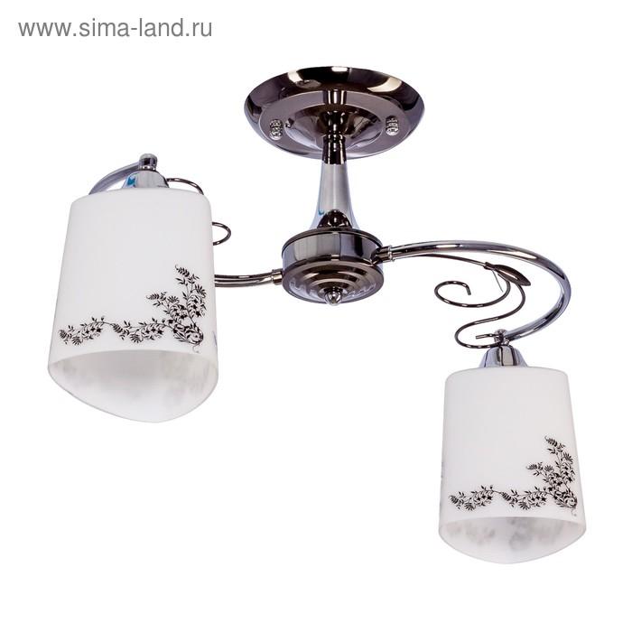 "Люстра модерн ""Артемия"" 2 лампы (220V 60W E27)"