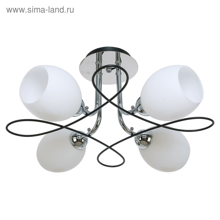 "Люстра еврокаркас ""Дарина"" 4 лампы (220V 60W E14)"