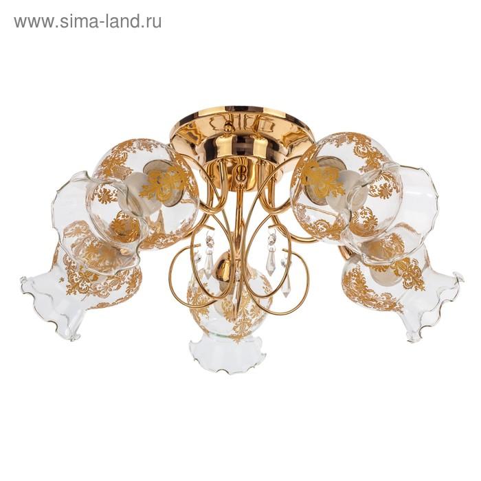 """Люстра классика """"Афродита"""" 5 ламп (220V 40W E27)"""