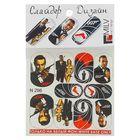 """Слайдер-дизайн для маникюра """"Джеймс Бонд"""", N296, разноцветный"""