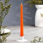 Свеча античная оранжевая