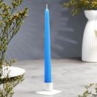 Свеча античная синяя
