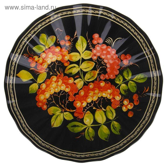 """Тарелка суповая 500 мл """"Хохлома"""", 21,5х3,5 см"""