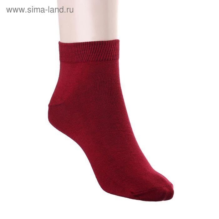 Носки женские арт.22230, размер 25, цвет малиновый