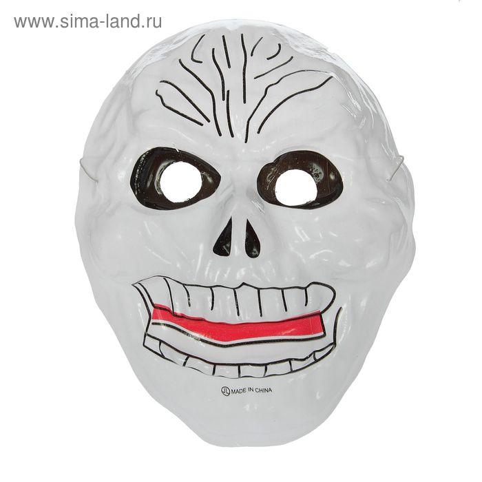 """Карнавальная маска """"Злодей"""" на резинке"""