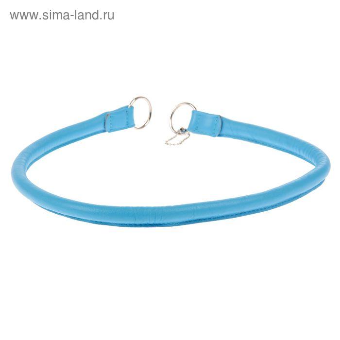 Ошейник-удавка рывковый CoLLaR Glomour, 70 х 1,3 см, синий