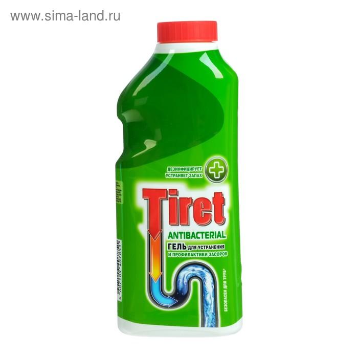 Гель Tiret Antibacterial для удаления и профилактики засоров, 500 мл
