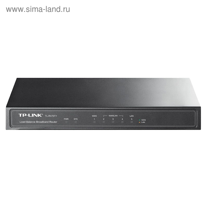 Маршрутизатор TP-Link TL-R470T+ 10/100BASE-TX