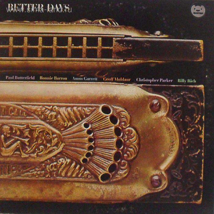 Виниловая пластинка Paul Butterfield  - Better Days