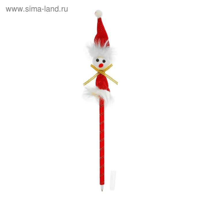 """Ручка шариковая """"Снеговик"""""""