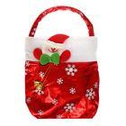 """Новогодняя сумка для подарков """"Снеговик"""", вместимость 300-400 г"""