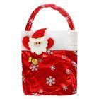 """Новогодняя сумка для подарков """"Дед Мороз"""", вместимость 300-400 г"""