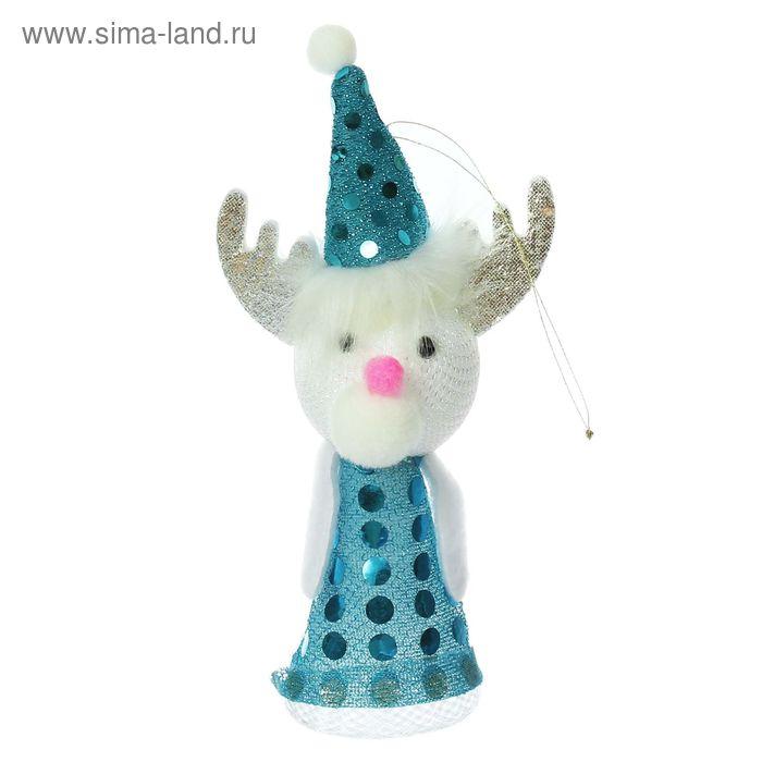 """Новогодняя игрушка-прыгун """"Олень"""", цвета МИКС"""