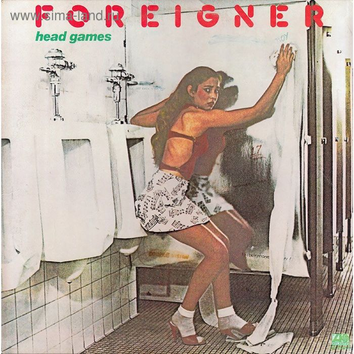 Виниловая пластинка Foreigner - Head Games
