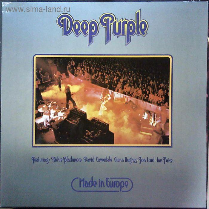 Виниловая пластинка Deep Purple - Made In Europe