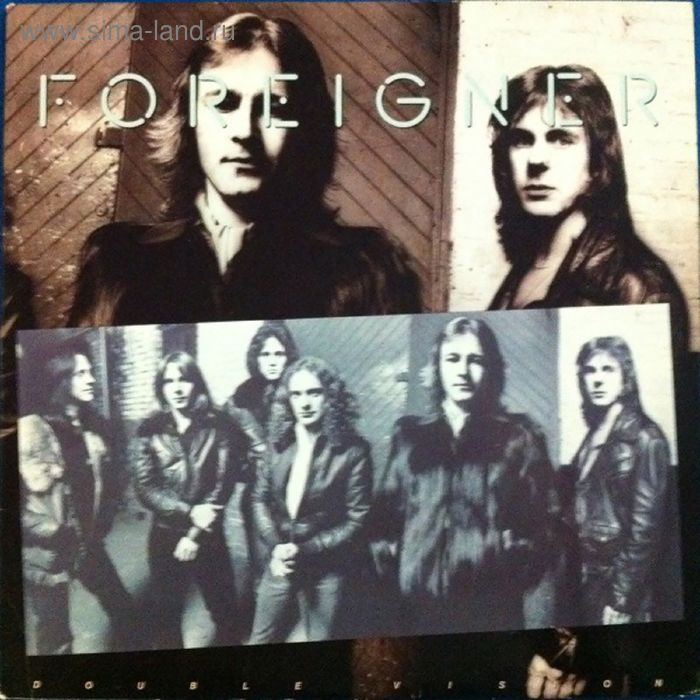 Виниловая пластинка Foreigner  - Double Vision