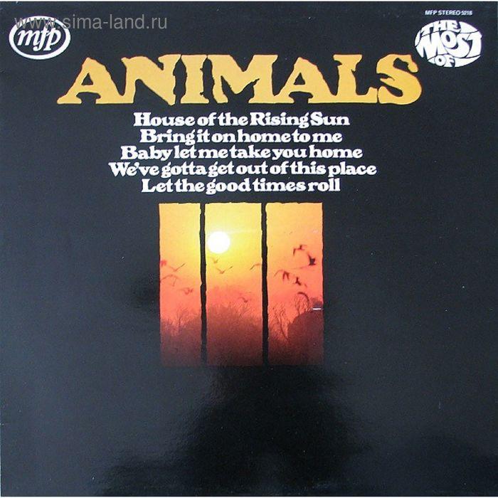 Виниловая пластинка Animals - The Most Of