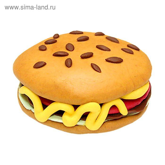 """Пластилиновое мыло """"Гамбургер"""""""