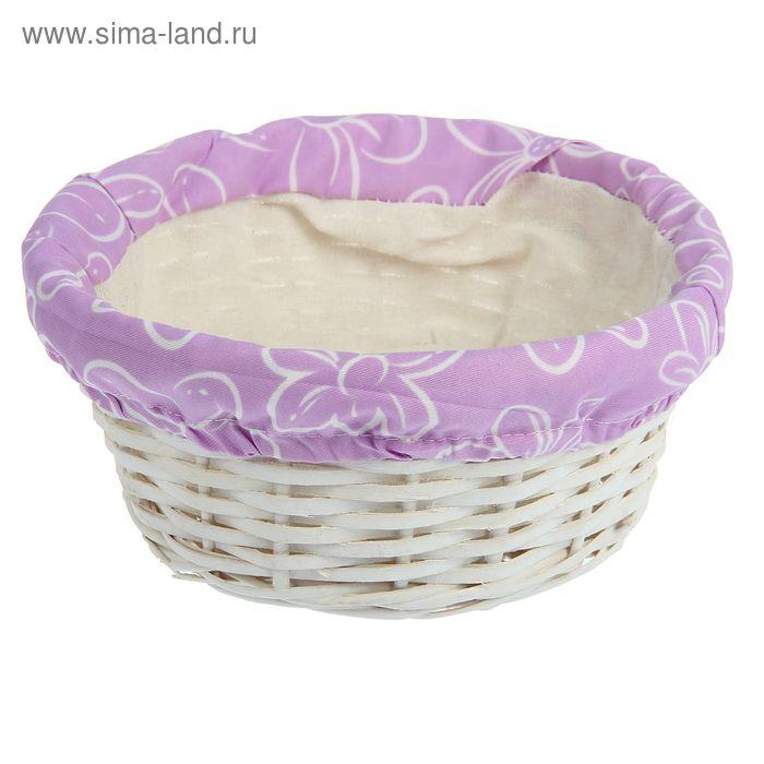 Корзинка для фруктов и хлеба 23х9 см, с салфеткой