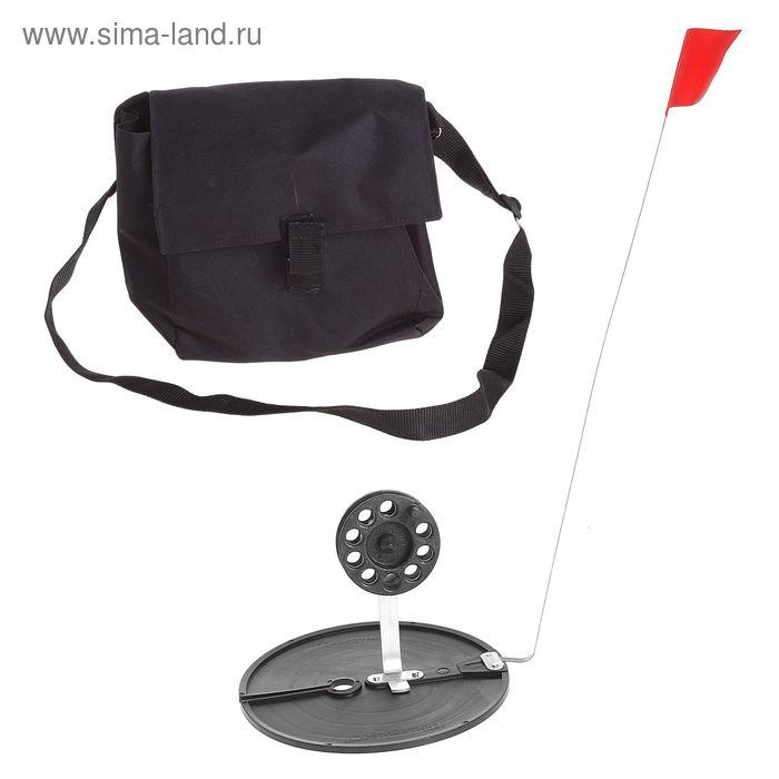 Набор жерлиц в сумке d=170 мм, катушка d=63 мм, набор 10шт