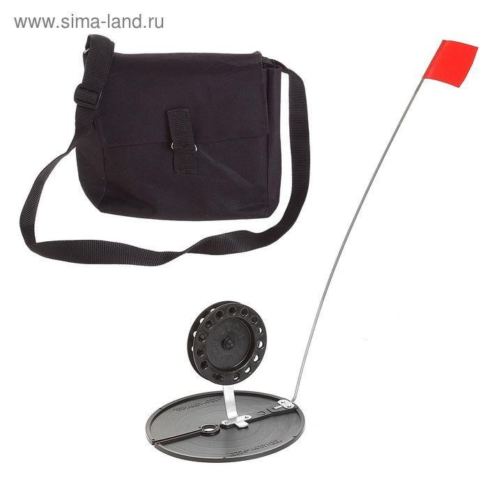 Набор жерлиц в сумке d=170 мм, катушка d=90 мм, набор 10шт
