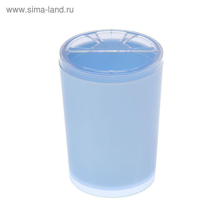 """Подставка для зубных щеток """"Joli"""", цвет светло-голубой"""