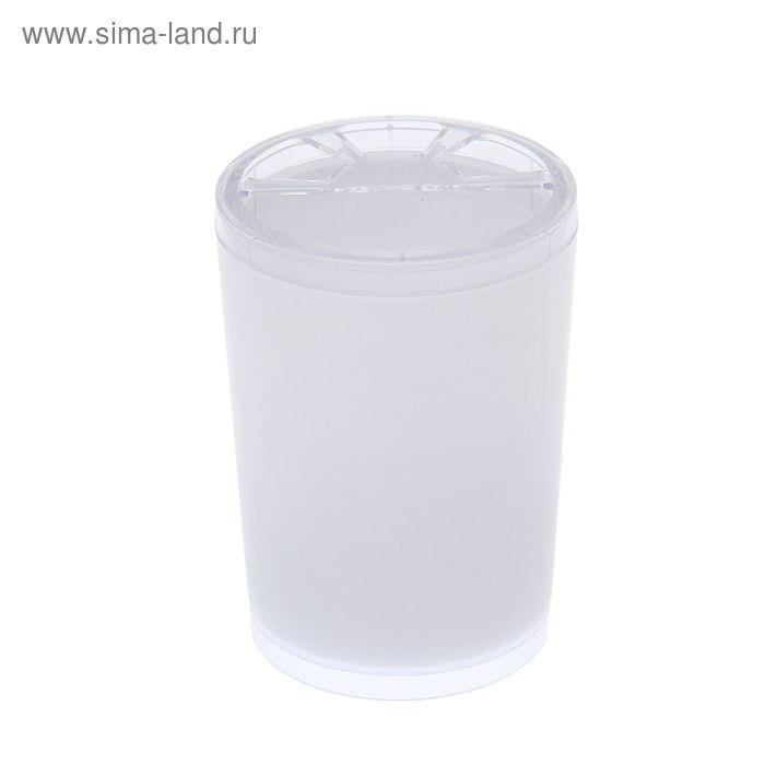 """Подставка для зубных щеток """"Joli"""", цвет снежно-белый"""