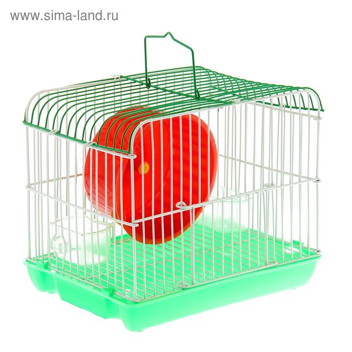Клетка для грызунов, 22 Х 16 Х 18 см, микс цветов