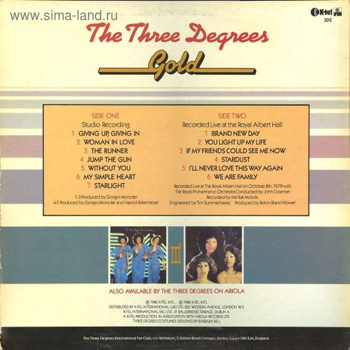 Виниловая пластинка Three Degrees - Gold