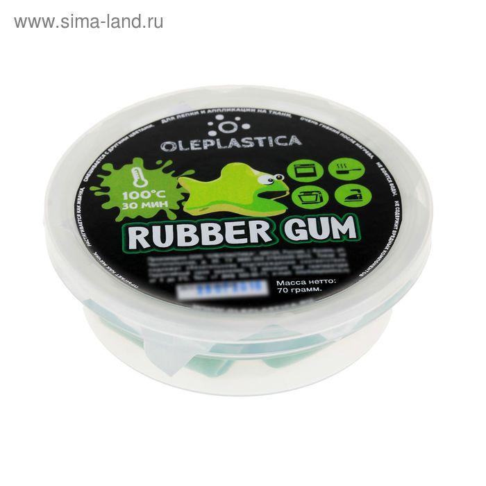 """Резиновый арт-пластилин """"Rubber Gum"""", зелёный, 70 г"""