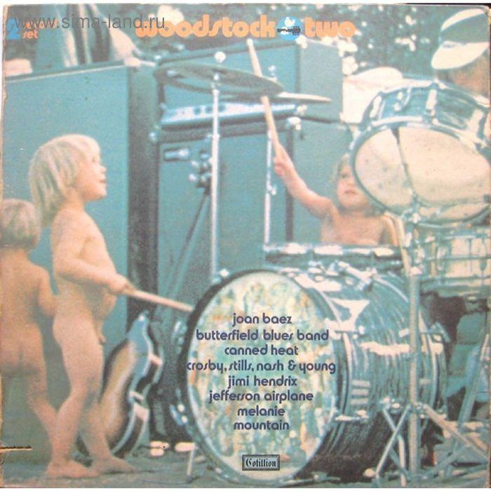 Виниловая пластинка zzzzVarious - Woodstock Two 2LP Rock,Blues