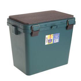 Ящик зимний односекционный Helios, цвет зеленый
