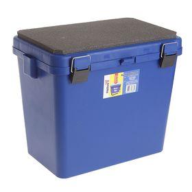 Ящик зимний односекционный Helios, цвет синий