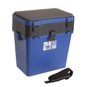 Ящик зимний двухсекционный Helios, цвет синий