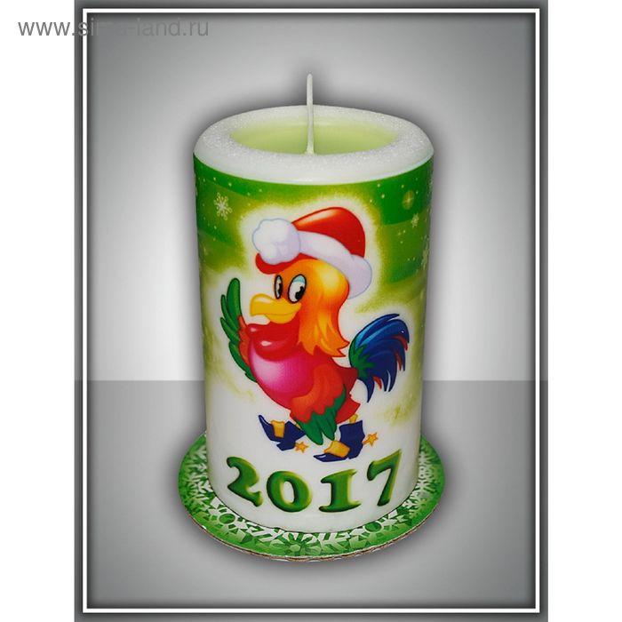 Свеча-сюрприз новогодняя арома №2