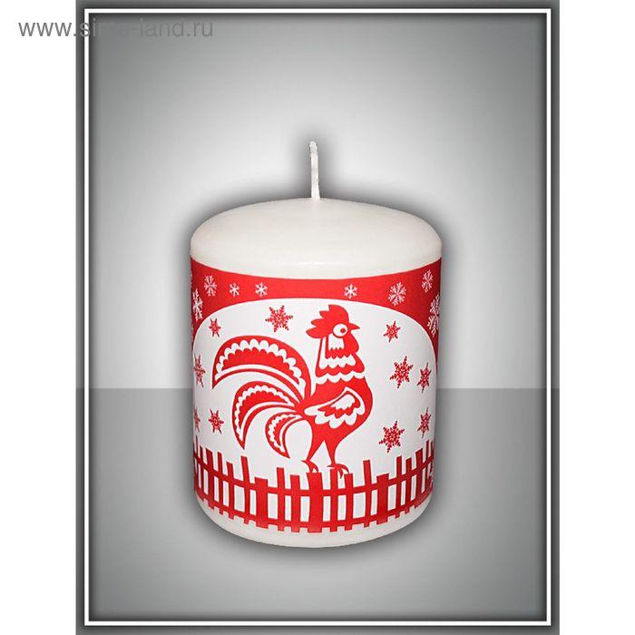 Свеча новогодняя пеньковая №1