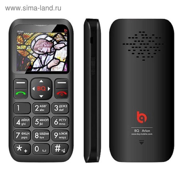 Мобильный телефон BQ M-1802 Arlon, чёрный