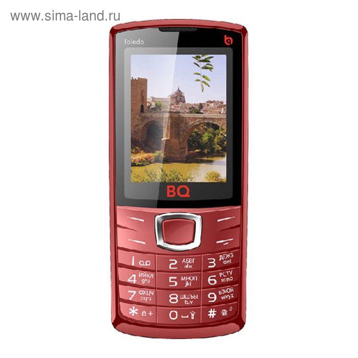 Мобильный телефон BQ M-2406 Toledo, красный