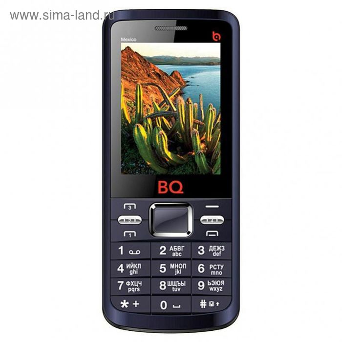 Мобильный телефон BQ M-2408 Mexico, синий