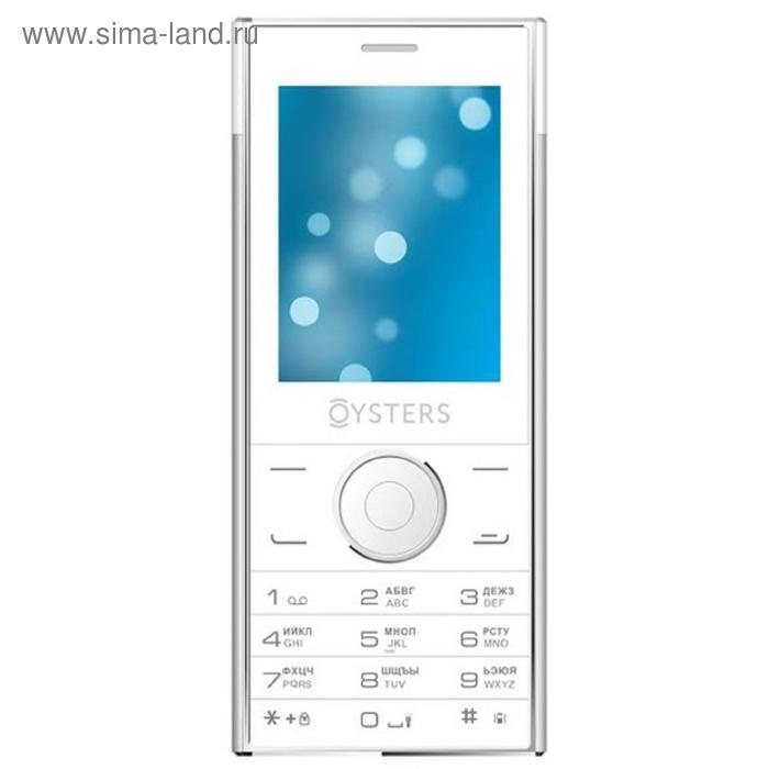 Мобильный телефон Oysters Ufa, белый