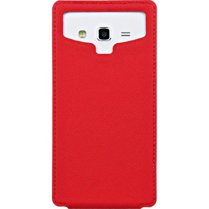 """Чехол Partner Book-case 5,5"""", красный  (размер 8.0*15.5 см)"""