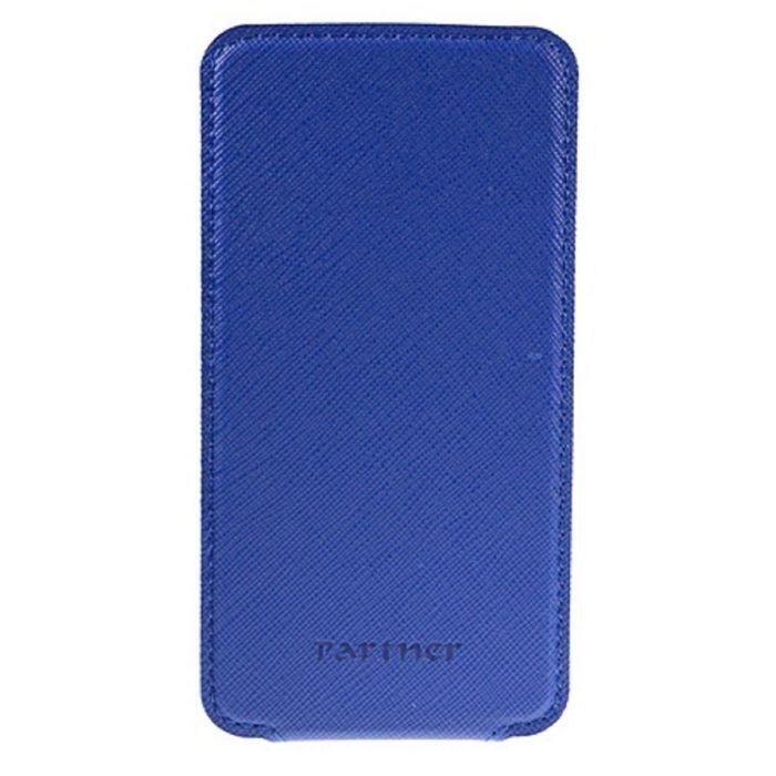 """Чехол Partner Flip-case 4,8"""", синий  (размер 7.0*13.7 см)"""