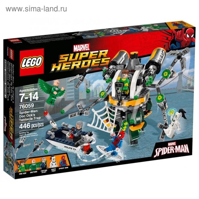 """Конструктор """"Человек-паук™ : В ловушке Доктора Осьминога"""", 446 деталей"""