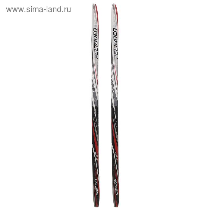 Лыжи пластиковые БРЕНД ЦСТ (140см), цвета МИКС