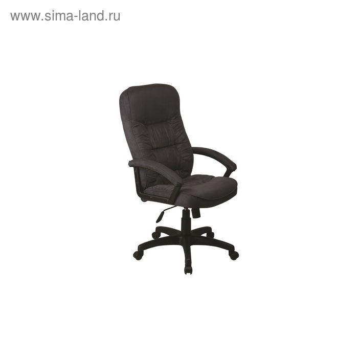 Кресло руководителя T-9908AXSN/MF110 серый, микрофибра