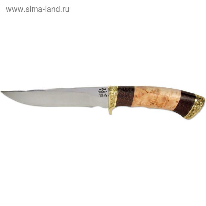 """Нож нескладной """"Коготь"""" (5931)к, рукоять-венге/карельская береза, сталь 95х18"""