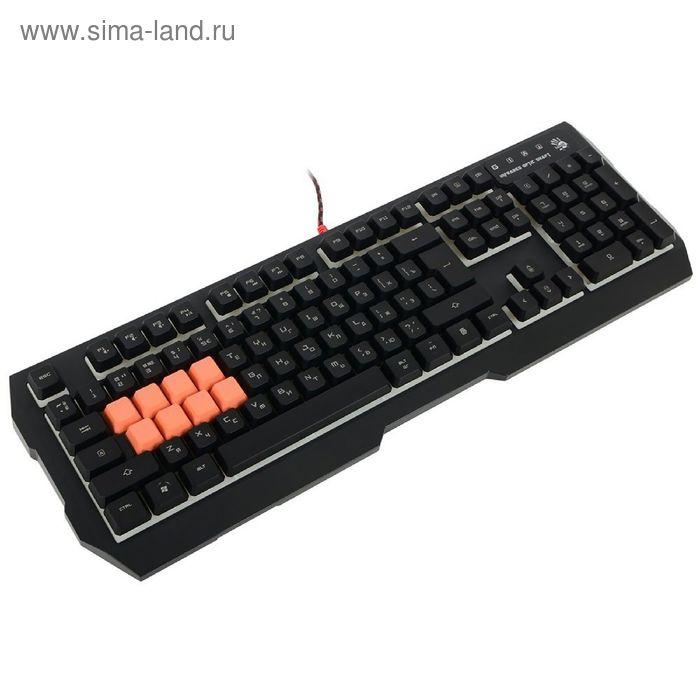 Клавиатура A4 Bloody B188, черный
