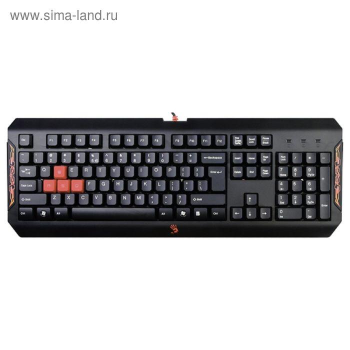 Клавиатура A4 Bloody Q100, черный